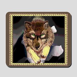 Wolf Breakthrough Mousepad
