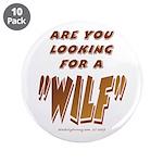 "WILF MAN 3.5"" Button (10 pack)"