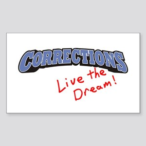 Corrections - LTD Rectangle Sticker