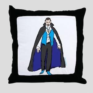 Vampire 3 Throw Pillow