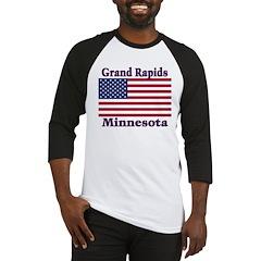 Grand Rapids Flag Baseball Jersey
