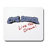 Civil servant Classic Mousepad
