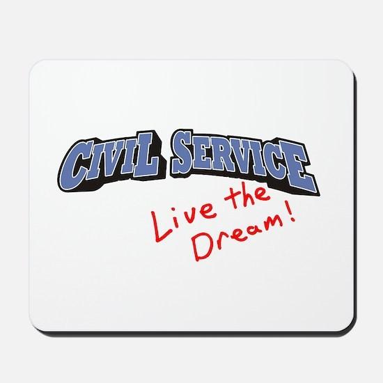 Civil Service - LTD Mousepad