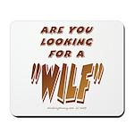 WILF MAN Mousepad