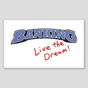 Banking - LTD Rectangle Sticker