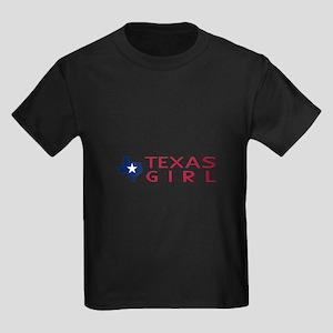 Texas Girl Kids Light T-Shirt