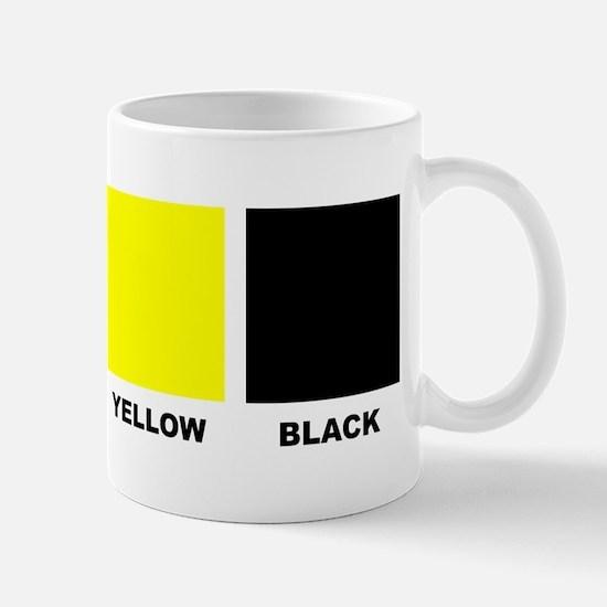 CMYK Four Color Process Coffee Mug