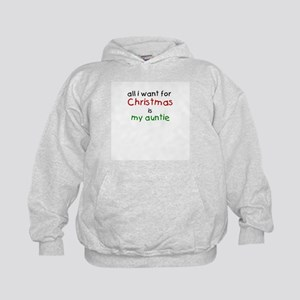 All I want for Christmas is m Kids Hoodie