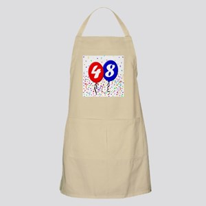48th Birthday BBQ Apron