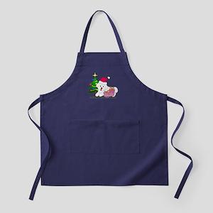 Bichon Frise Apron (dark)