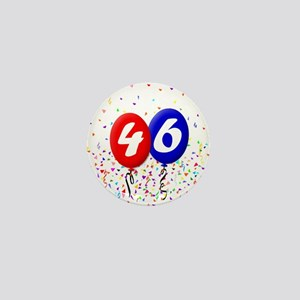46th Birthday Mini Button