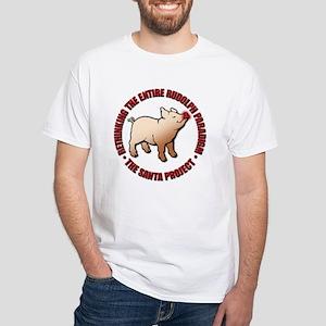 Rethinking the Foggy Christma White T-Shirt
