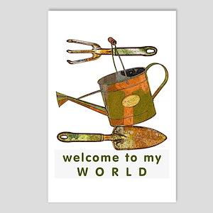 Garden Tools Postcards (Package of 8)
