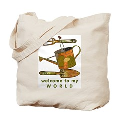 Garden Tools Tote Bag