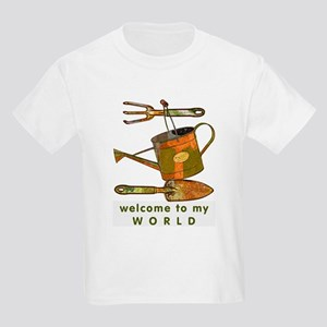 Garden Tools Kids T-Shirt