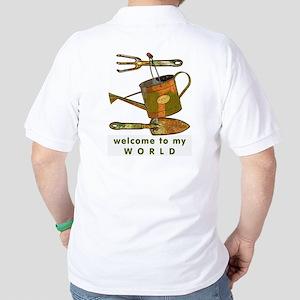 Garden Tools Golf Shirt