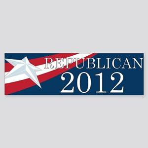 Republican 2012 Bumper Sticker
