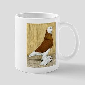 WOE Red Bald Pigeon Mug