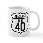 Route 40 Shield - Missouri Mug