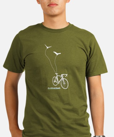 Unique Mountain bike kids Organic Men's T-Shirt (dark)