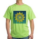 DAY# 335.ENJOYMENT ? Green T-Shirt
