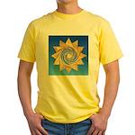 DAY# 335.ENJOYMENT ? Yellow T-Shirt