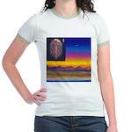 02. neworld flag. . ? Jr. Ringer T-Shirt