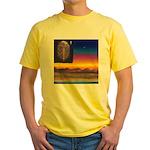 02. neworld flag. . ? Yellow T-Shirt