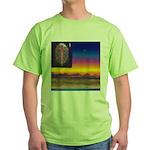 02. neworld flag. . ? Green T-Shirt