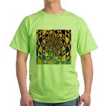 0307.twelve harmonik Green T-Shirt