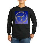 0078.try? Long Sleeve Dark T-Shirt