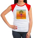 0136.body of life ? Women's Cap Sleeve T-Shirt