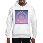 370a.heart fire mandala Hooded Sweatshirt