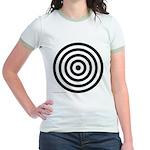275.bullseye.. Jr. Ringer T-Shirt