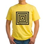 275c.pyramid.. Yellow T-Shirt