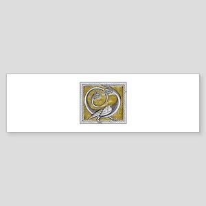 The Dragon Bumper Sticker