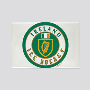 IE Ireland(Eire/Erin) Hockey Rectangle Magnet