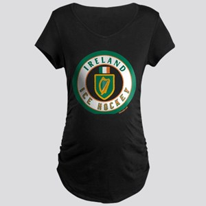 IE Ireland(Eire/Erin) Hockey Maternity Dark T-Shir