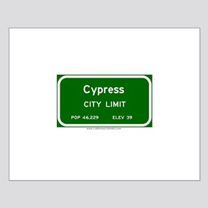 Cypress Small Poster