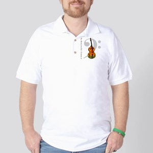 Real Bass Players Do It Stand Golf Shirt
