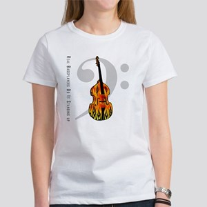 Real Bass Players Do It Stand Women's T-Shirt