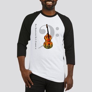 Real Bass Players Do It Stand Baseball Jersey