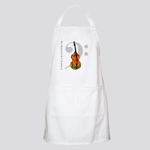 Real Bass Players Do It Stand BBQ Apron