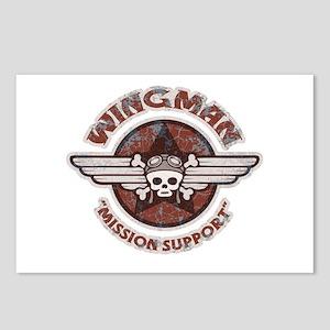 Pirate Pilot Wingman Postcards (Package of 8)