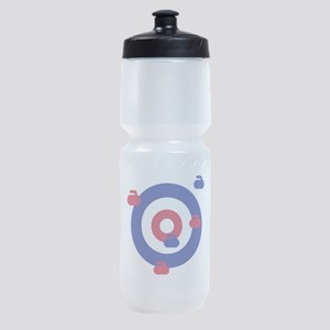Curling field target Sports Bottle