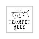 Trumpet Hand Drawn Sticker