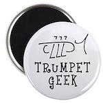 Trumpet Hand Drawn Magnets