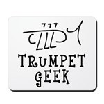 Trumpet Hand Drawn Mousepad