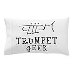 Trumpet Hand Drawn Pillow Case