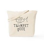 Trumpet Hand Drawn Tote Bag